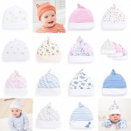 SC109 Ex Chainstore Printed Embroidered Baby Hat (x100)