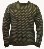 SM003 Ex UK Chainstore Green Geometric Print Jumper x8