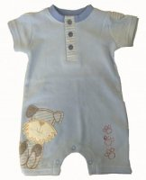 SC002 Ex UK Chainstore Paw Print Baby Grow x12