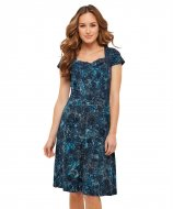 SL1326 Ex Chainstore Fabulous Floral Flocked Dress (x12)