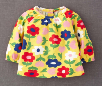 SC063 Ex UK Chainstore Yellow Hopscotch Sunflower Top x20