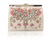SL722 Ex UK Chainstore Gem Embellished Clutch Bag x12