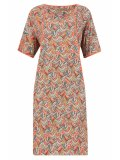 SL1011 Ex UK Chainstore Feather Print Tunic Dress x12