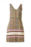 SL725 Ex UK Chainstore Sleeveless Paisley Print Dress x9