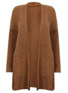 SL882 Ex Chainstore Ultimate Chunky Cardigan - Rust x11