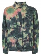 SL957 Ex UK Chainstore Tie Dye Shacket x15
