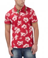 SM045 Ex Chainstore Floral Print Polo x12