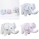 SC108 Ex Chainstore Little Elephants Printed Soft Toy (x50)