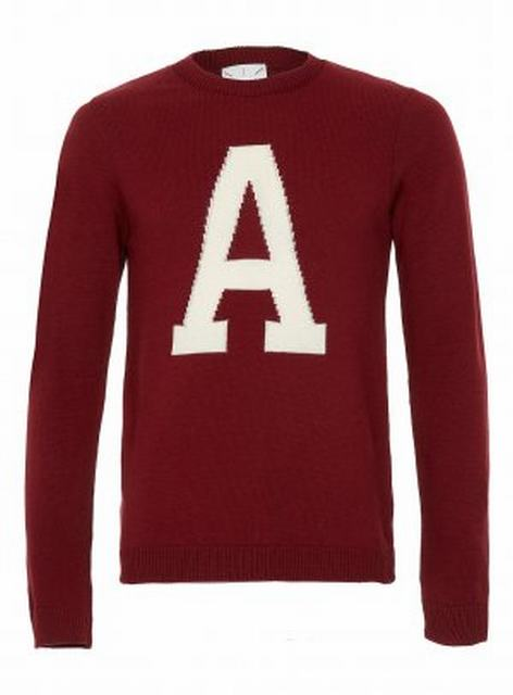 SM016 Ex UK Chainstore A Jumper - Burgundy x8