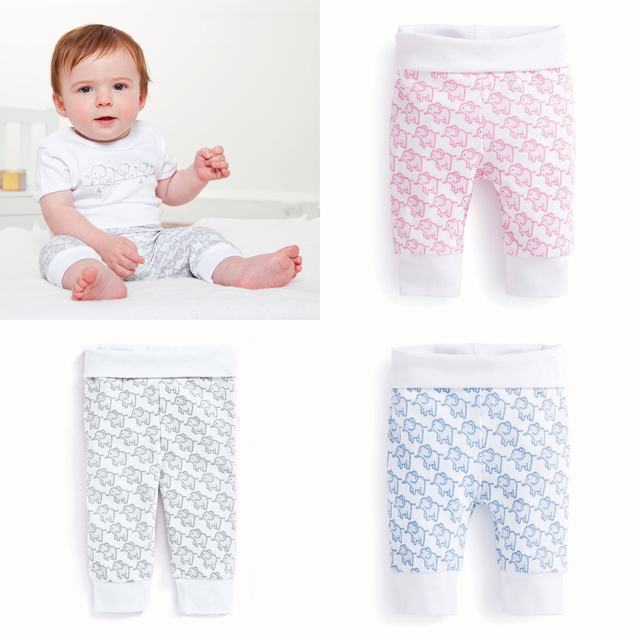 SC134 Ex Chainstore Little Elephants Baby Pull Up Pants (X100)